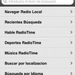 Tune In Radio: Escucha tus estaciones de radio favoritas en un dispositivo móvil
