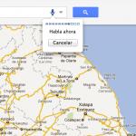 Google Maps ahora permite hacer búsquedas por voz