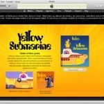 Libro interactivo de Yellow Submarine disponible en iTunes Store