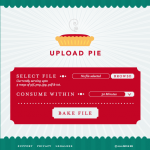 Upload Pie: Un sitio para compartir archivos de texto e imagen rápidamente