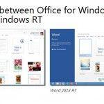 Office para Windows RT para descargar completo hasta noviembre
