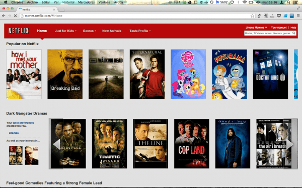 Netflix gringo