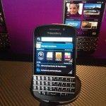 ¡Hoy fue presentado el BlackBerry Q10 en México!