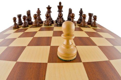 jugar una partida en ajedrez: