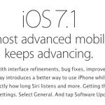Conoce las novedades de iOS 7.1, la actualización más reciente de Apple