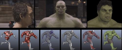 Avengers efectos visuales