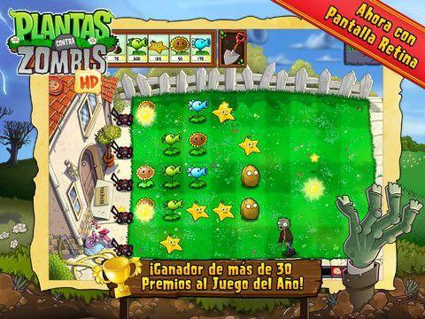Plantas contra zombies gratis en la itunes store for Fotos de la casa de plantas vs zombies