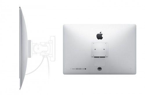 Las nuevas iMac con VESA