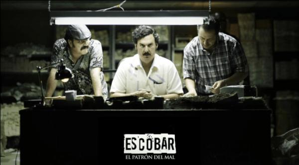 El patrón del mal, televisión colombiana de primera