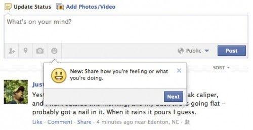 Ahora Facebook sabrá lo que sientes