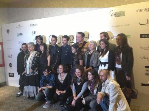 El equipo de Google+ Fashion México con diseñadores participantes
