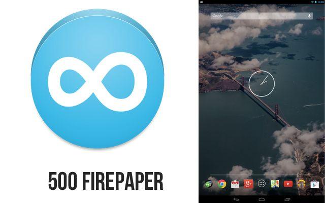 500 firepaper: wallpapers para android gratis