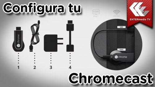 configurar google chromccast
