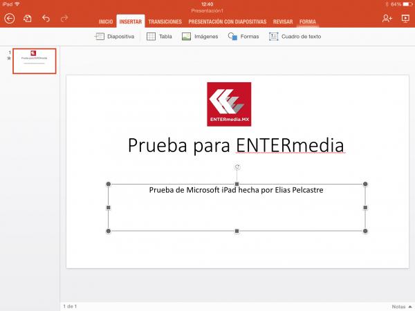 descargar microsoft powerpoint ipad probamos la app para crear