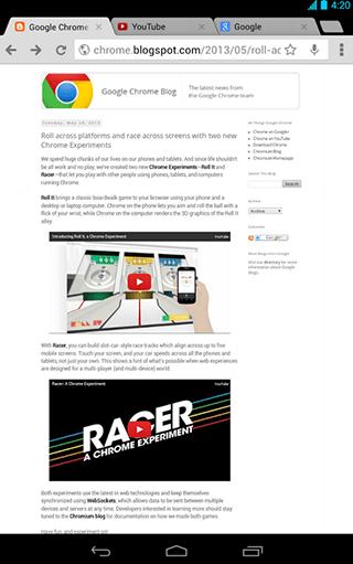Chromecast Chrome Beta Android: Ya puedes usar Chromecast