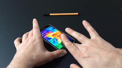 Galaxy S5 huella