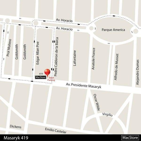Cómo llegar a MacStore Masaryk