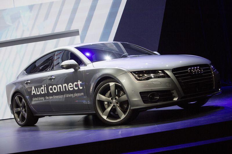 Audi A7, el auto que se maneja solo