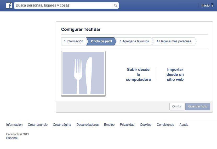 cómo unir dos cuentas de Facebook