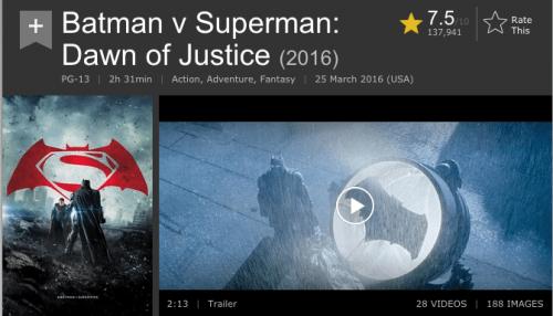critica batman vs superman 2