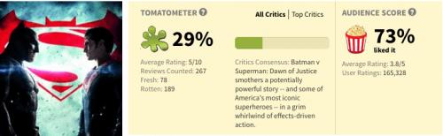 critica batman vs superman