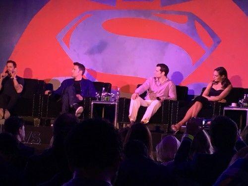 El elenco de Batman v Superman en México.