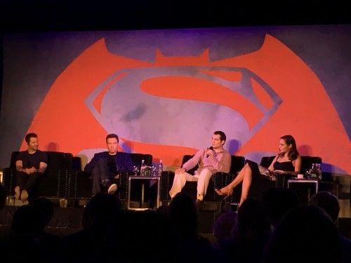 Batman, Superman y La mujer maravilla.