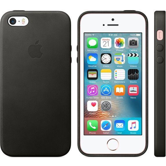 Funda de piel para el iPhone SE