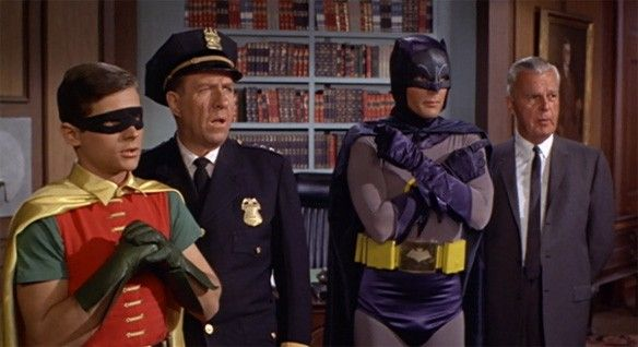 Adam West y Burt Ward