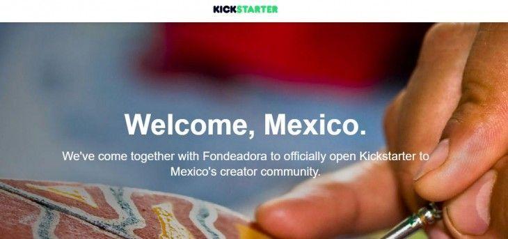 Kickstarter llega a México