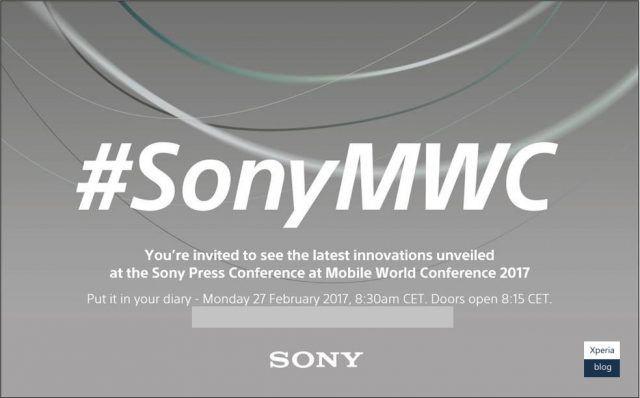 Sony en el Mobile World Congress 2017