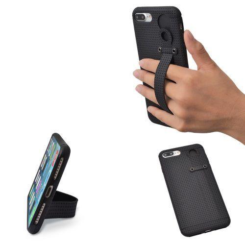 Funda suave con correa de mano TFY para iPhone