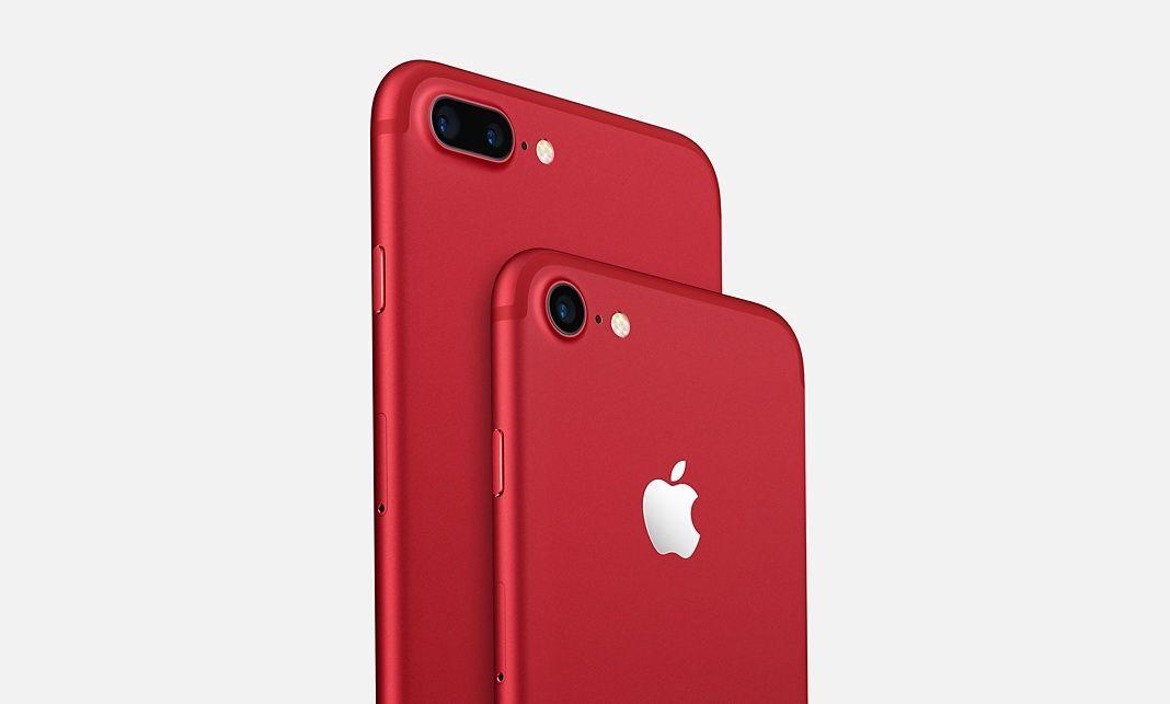 18704a1964b Pero según la tienda Telcel en línea, el iPhone 7 rojo únicamente se puede  comprar en línea.