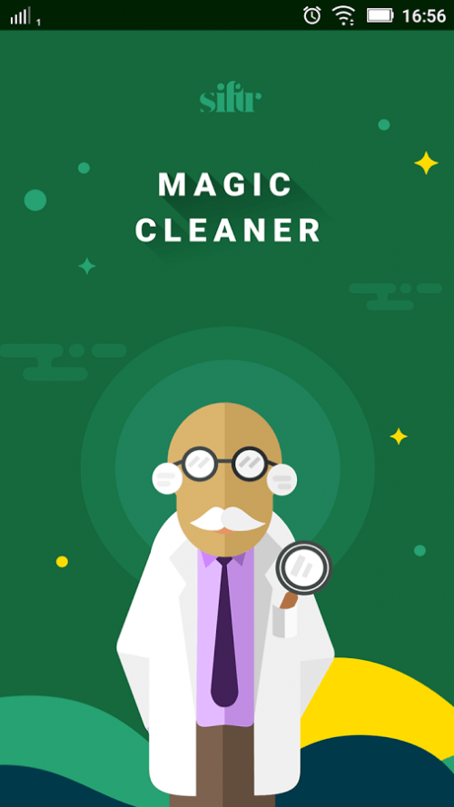 Siftr Magic Cleaner