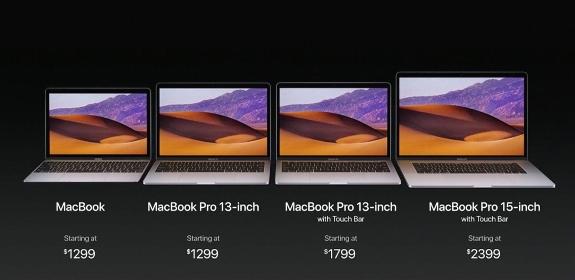 macbook pro WWDC 2017