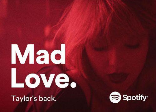 Taylor Swift en Spotify