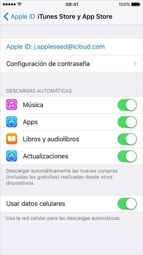 ahorrar datos en iPhone