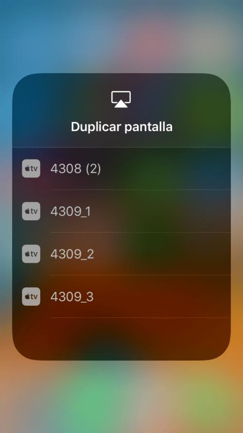 Centro de control de iOS 11