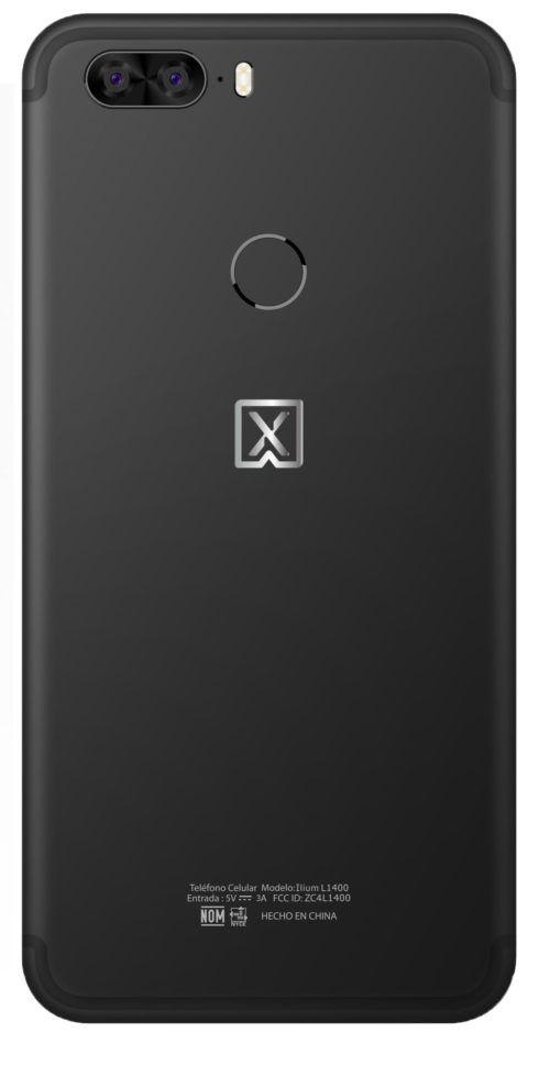 cámara de selfies del Lanix L1400